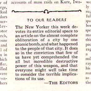 『ニューヨーカー』の記事