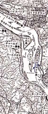 スリーマイル島周辺地図