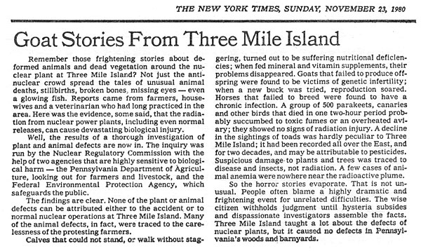 THE NEW YORK TIMES, SUNDAY, NOVEMBER 23, 1980