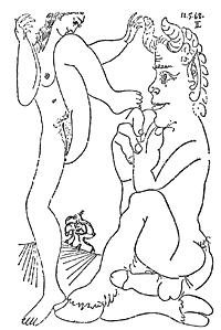 ピカソの絵
